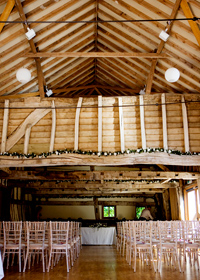 Getting married at Bateman's Barn